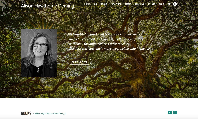 Alison Hawthorne Deming's Website