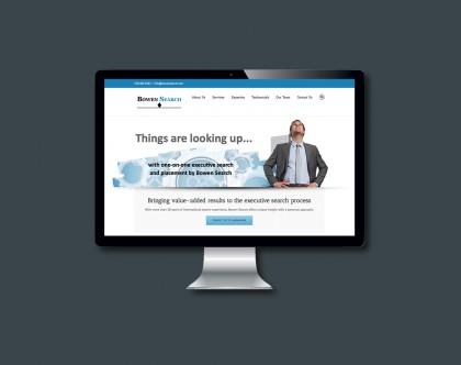 Website viewed on desktop or laptop