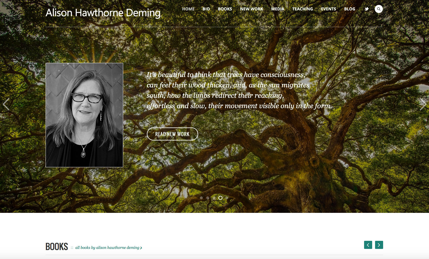 Alison Hawthorne Deming's Website